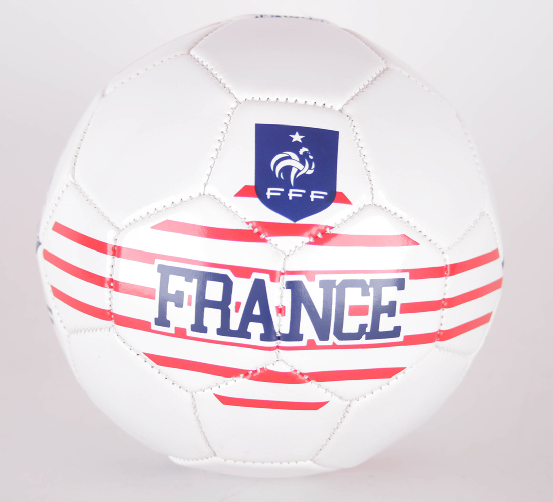 Détails Sur Fff Marinire Football France Ballon France Blancrougebleu Taille 2