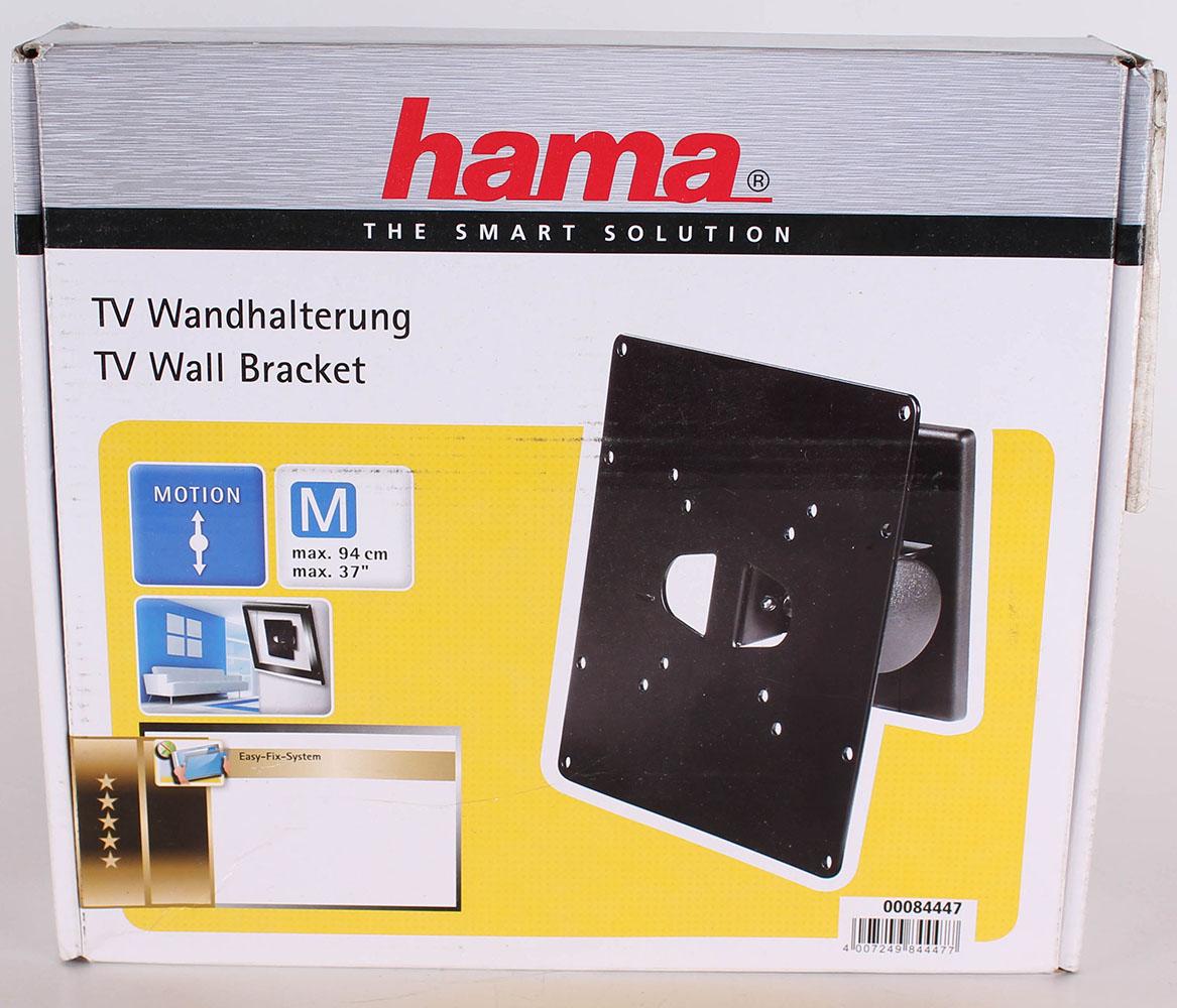 hama tv wandhalterung motion neigbar48 94cm fernsehhalterung 19 37 zoll ebay. Black Bedroom Furniture Sets. Home Design Ideas