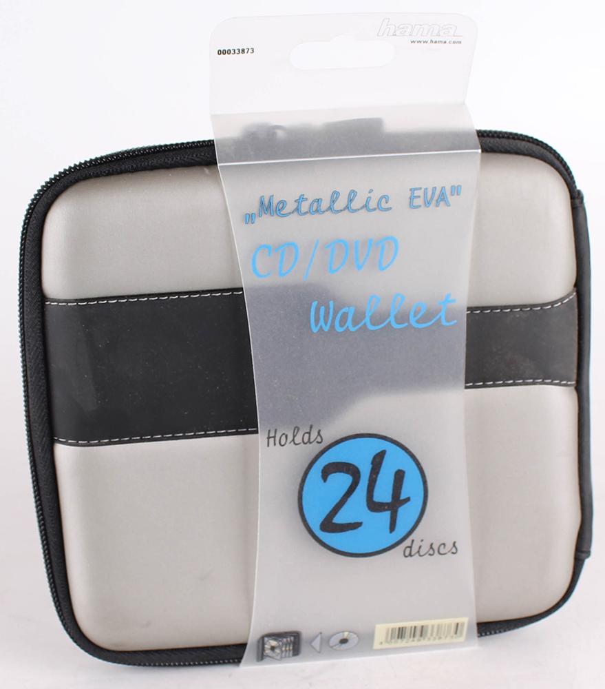 Hama CD Tasche Metallic 24 blau/schwarz | eBay