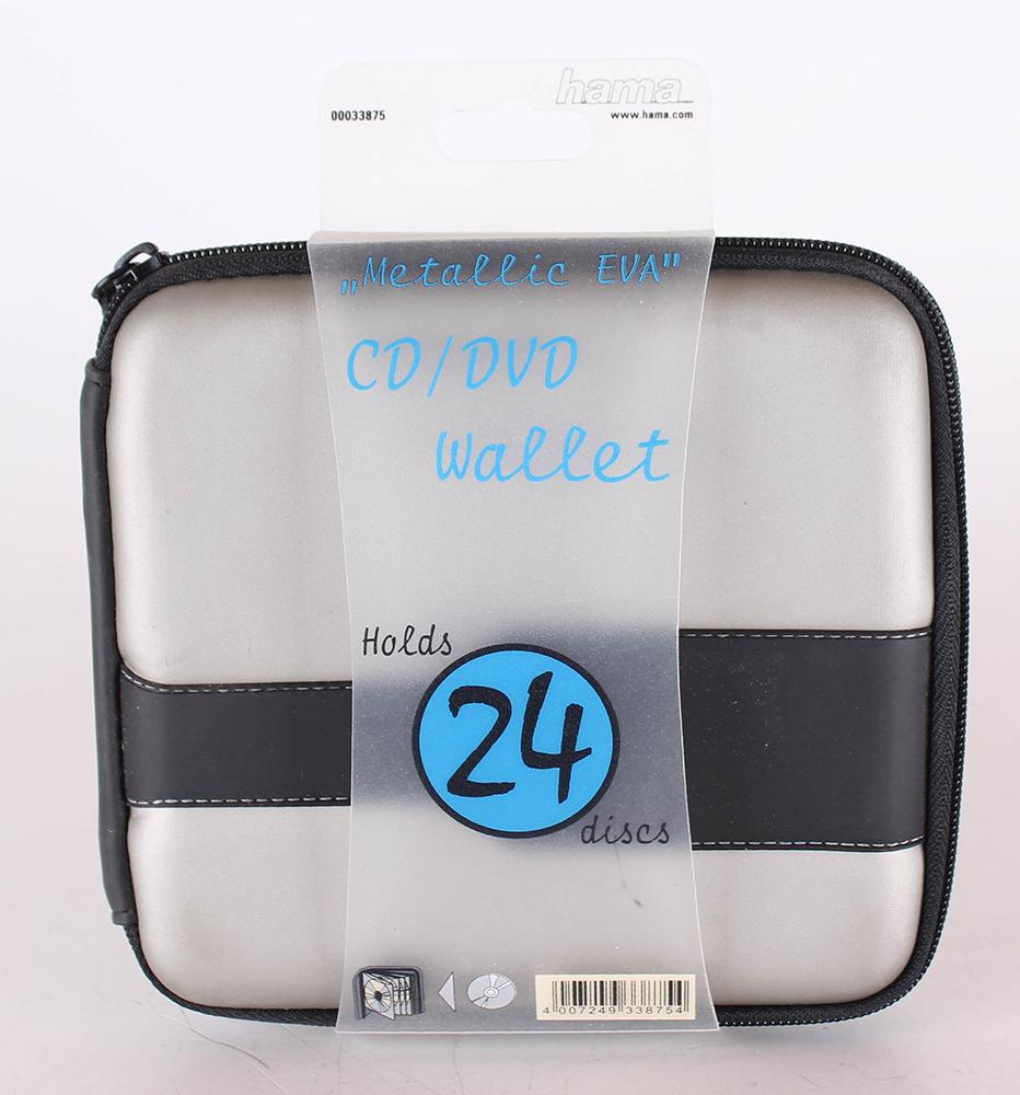 Hama CD Tasche Metallic 24 grün/schwarz | eBay