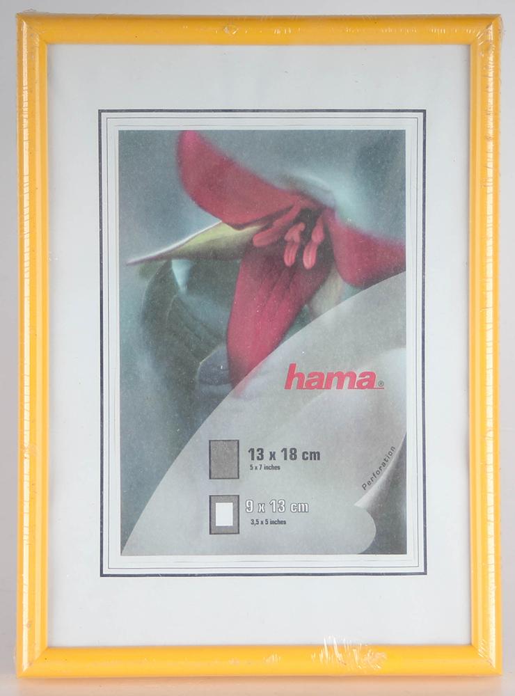 Hama Kunststoffrahmen Sevilla gelb 13 X 18 cm Bilderrahmen | eBay