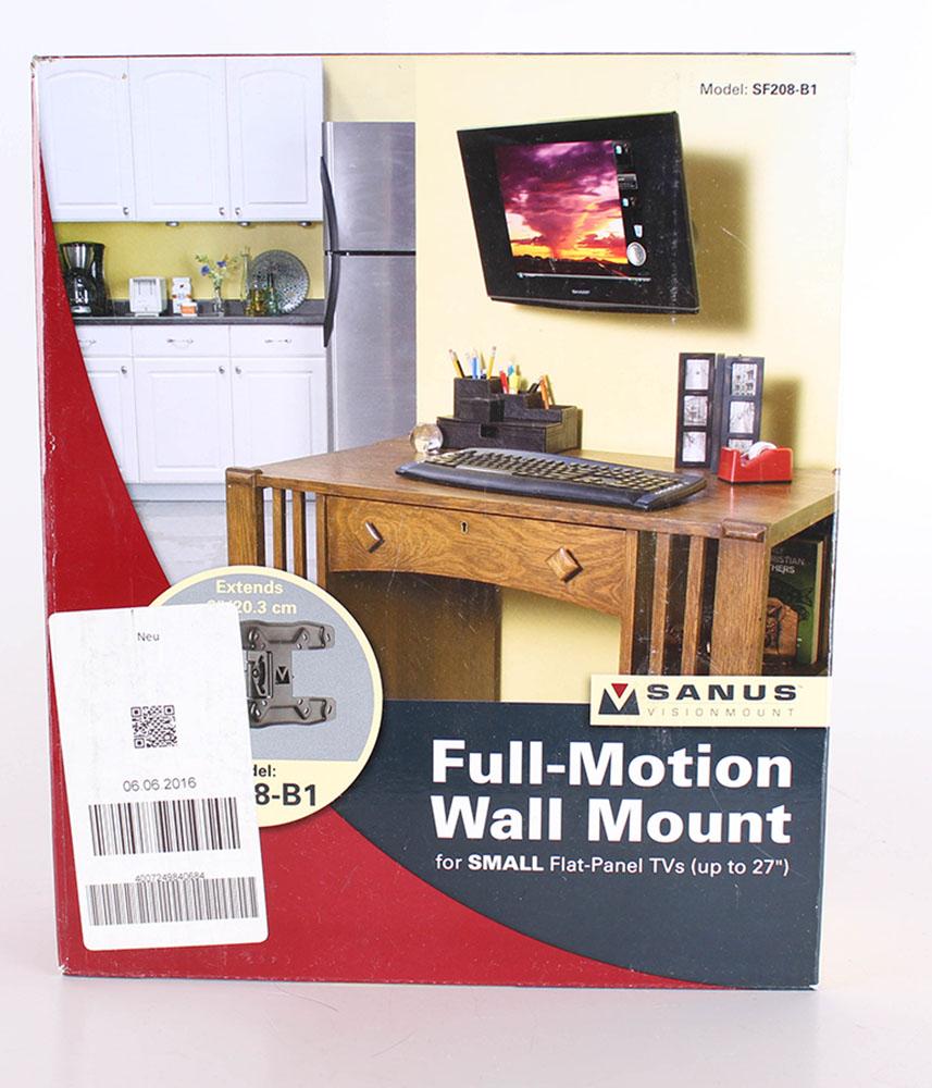 sanus systems tv wandhalterung fullmotion fr 38 69 cm 15 27 - Sanus Full Motion Tv Wandhalterung