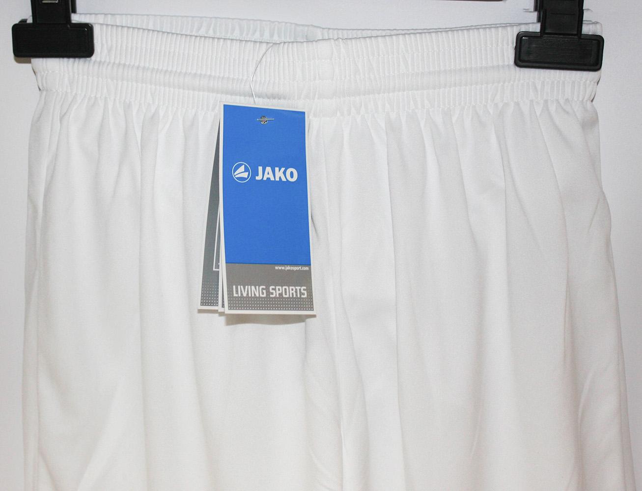 Jako pantalones de deporte palermo short niños breve pantalones de deporte blanco 4409-00 Shorts