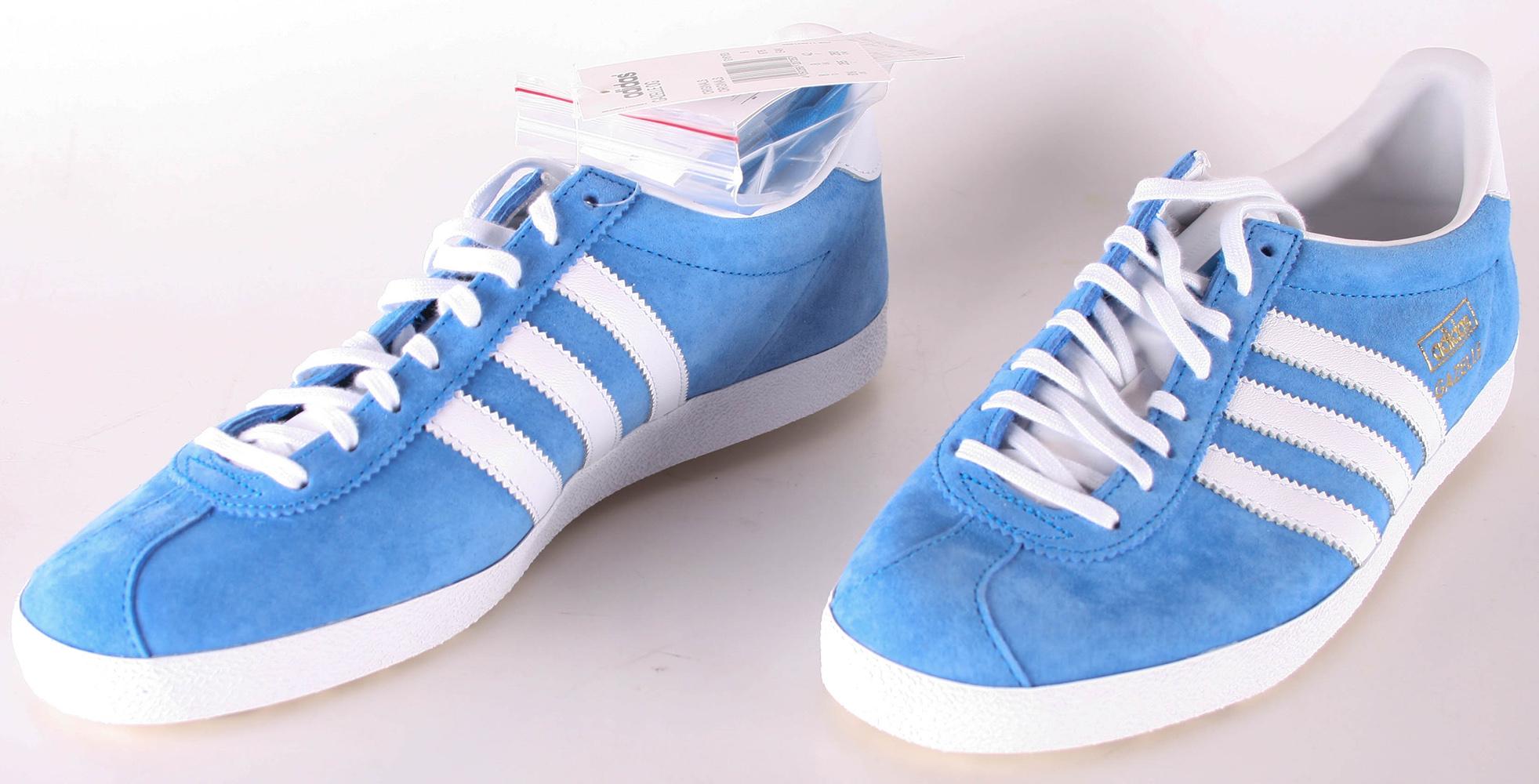 Og Uomo 43 Blau Adidas Scarpe Taglia Sneaker 13 Gazelle HUqxREEwn