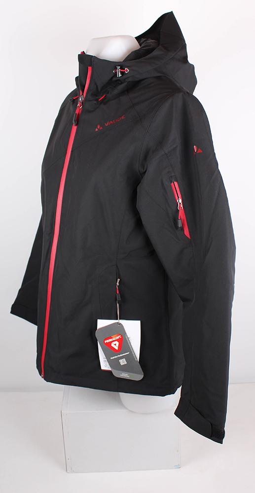 best service c8783 bd6e1 Details zu VAUDE Damen Roga Jacke Winterjacke Black/Red, M 40 Skijacke  Snowboardjacke