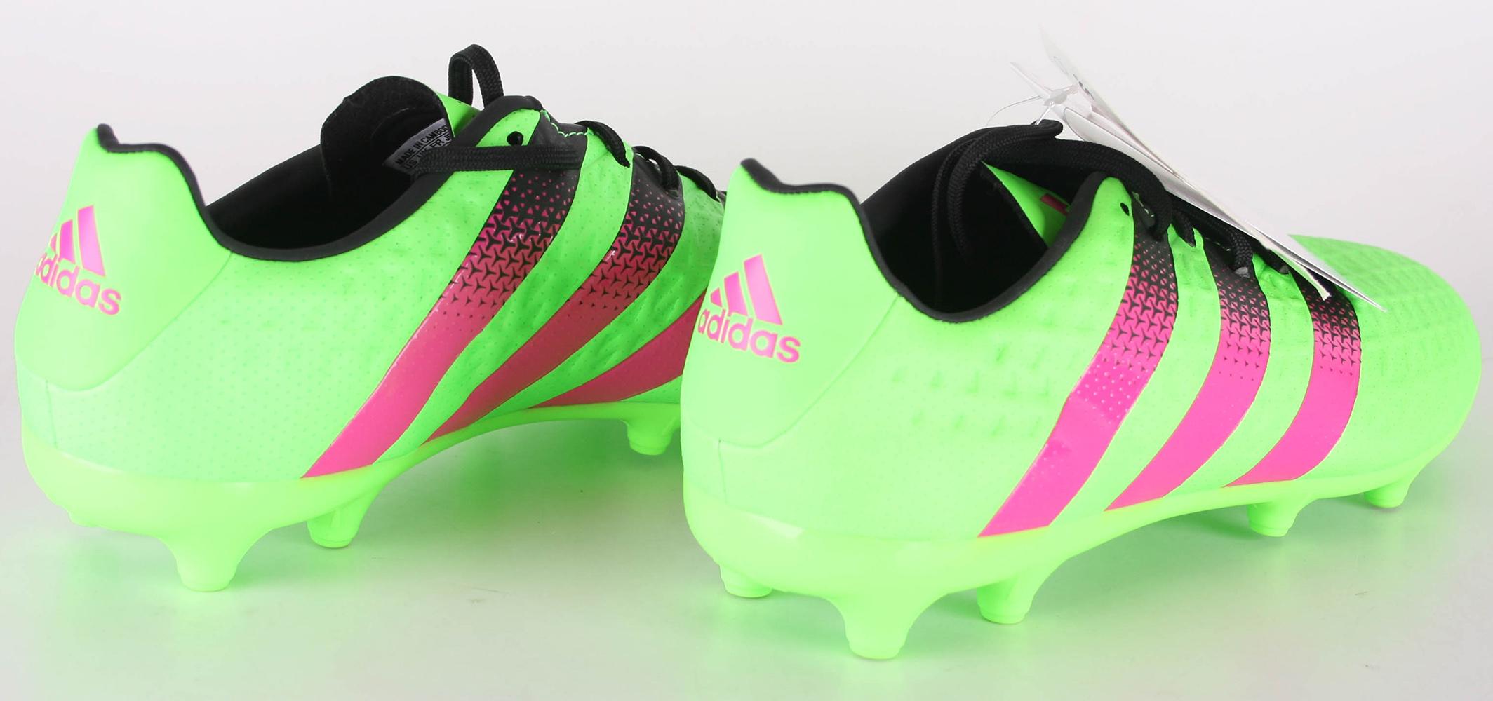 Détails sur Adidas Ace 16.3 FgAg Chaussures de Football Eu 41 13 Couleur : VertRose