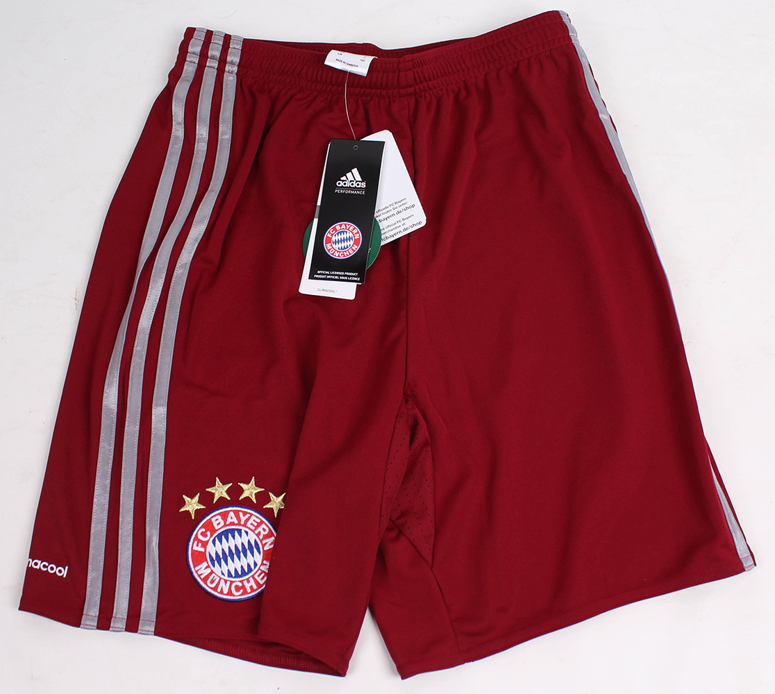 adidas kinder fc bayern m nchen ucl shorts replica. Black Bedroom Furniture Sets. Home Design Ideas