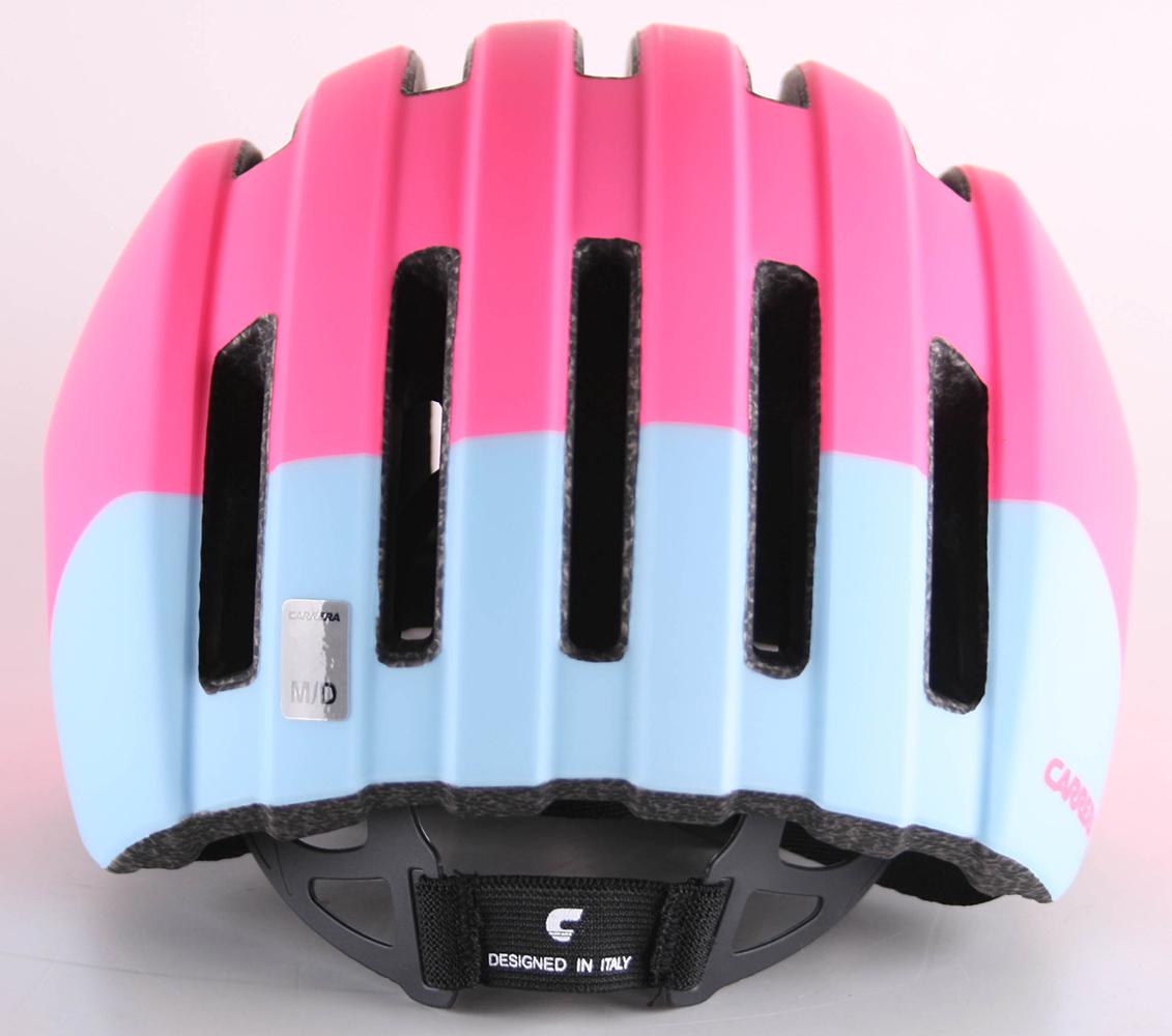 Carrera Precinct Fahrradhelm Farbe Matt Pink Light Blue M 55 58 cm Radhelm | eBay